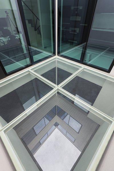 Glass Deck Photo 19 of Halffloors modern home