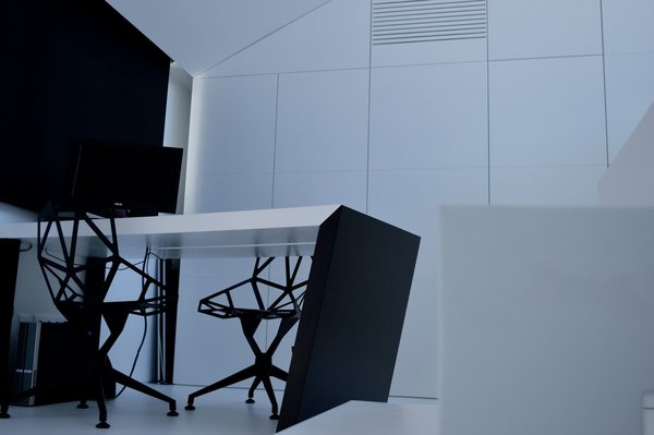 Office Photo 2 of Halffloors modern home