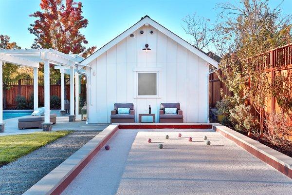 Bocce Ball  Photo 3 of St. Helena Retreart modern home
