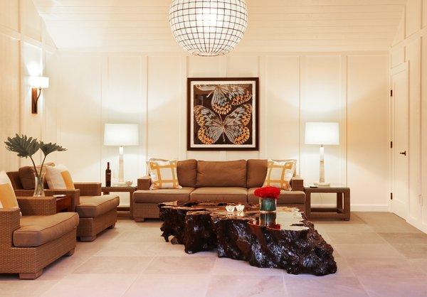 Pool House Lounge  Photo 15 of St. Helena Retreart modern home