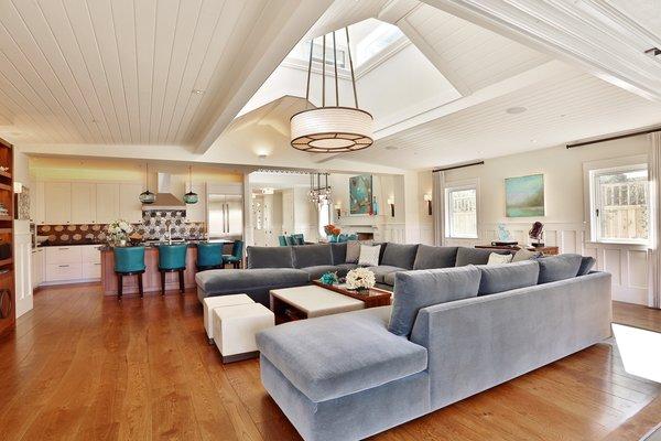 Living Room  Photo 9 of St. Helena Retreart modern home