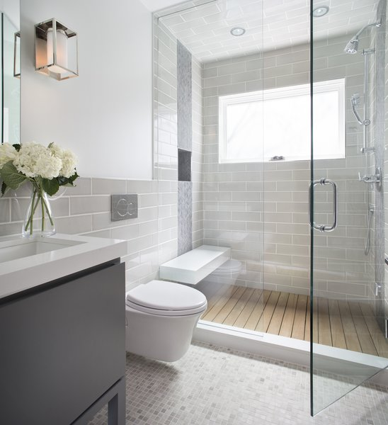 Modern home with bath room. Powder room  Photo 8 of Mountainside Town Home