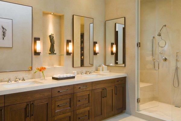 Modern home with bath room. Master bath  Photo 7 of Ute Rock Residence