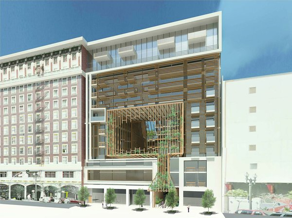 433 S. Main Street Mixed-Use Building Rendering Photo  of 433 S. Main Street - A 12-Story Mixed-Use Building modern home