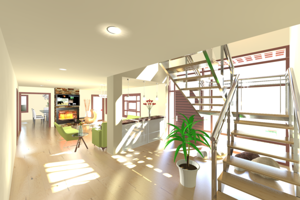 Residence at Wilton Place - Interior Rendering Photo 2 of Residence at Wilton Place modern home