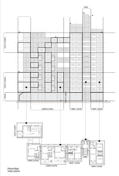 Atalaya Multi-Use Center - Section and Plan Photo 4 of Atalaya Multi-Use Center modern home