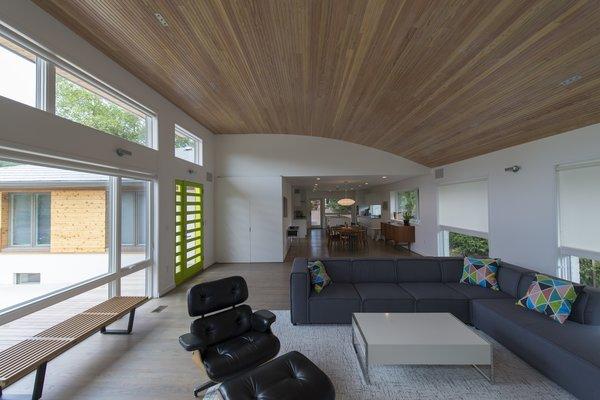 Photo  of Courtyard House modern home