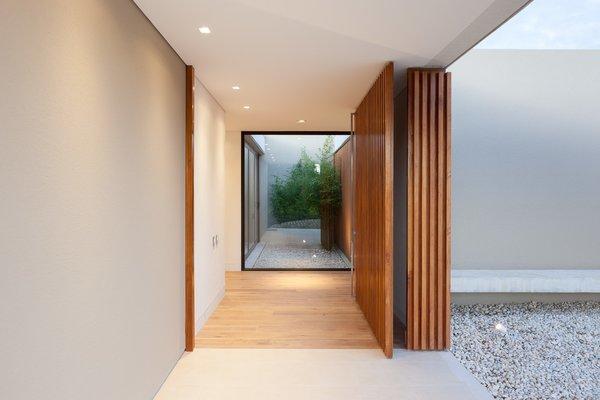 Entrance looking towards patio Photo 6 of Casa 40 modern home
