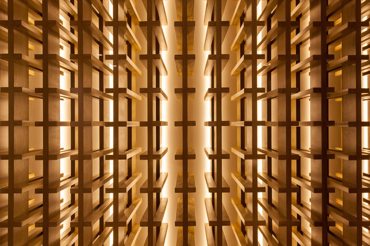 Wine cellar  Casa 40 by Sergio Reyes Rodríguez