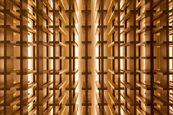 Wine cellar Photo 13 of Casa 40 modern home