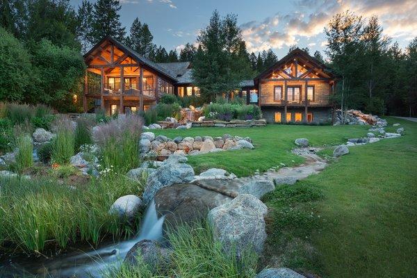 Photo  of Mountain Retreat in Jackson Hole modern home