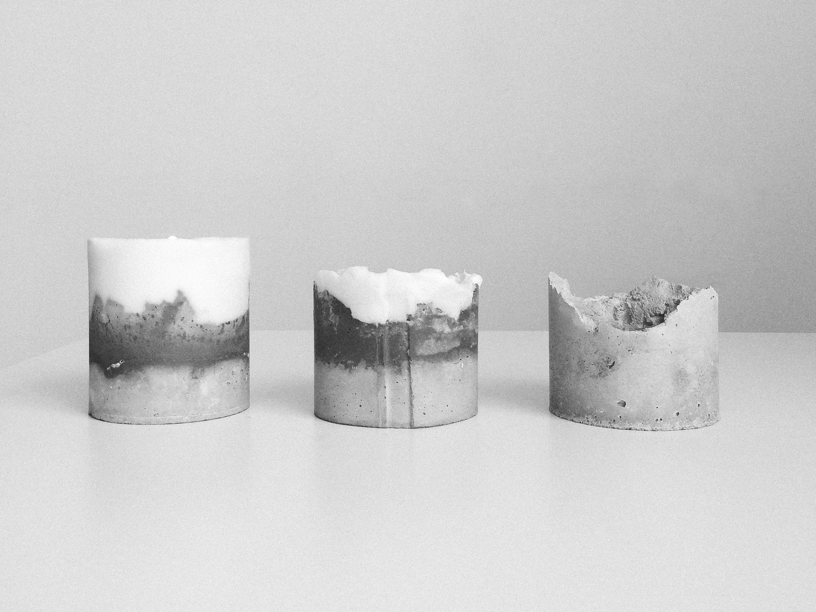 Photo 1 of 1 in Novel Studios Concrete Candle
