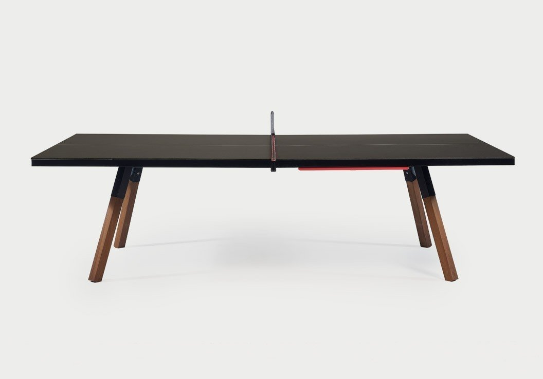you me table tennis table by aha dwell. Black Bedroom Furniture Sets. Home Design Ideas