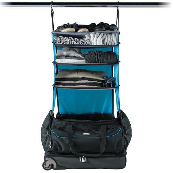 "Rolling Duffle Bag with Collapsible Shelves ""Roller"""