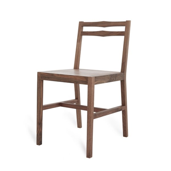 Kaufmann Two Rung Chair (Walnut)