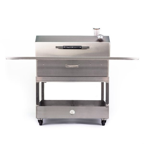 "Stainless Steel Grill ""Grand Prize Pit Model One"""