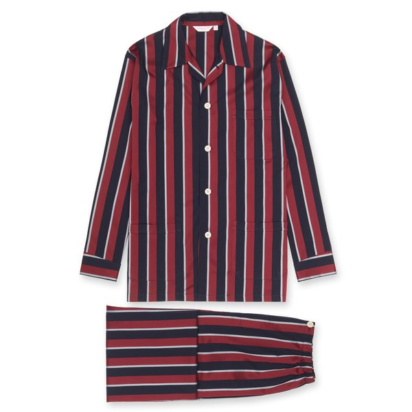 Men's Classic Fit Regimental Stripe Pajamas