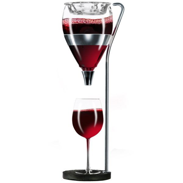 Table Tower Aerating Wine Dispenser