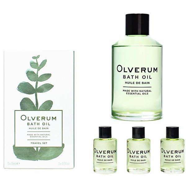 Luxury Therapeutic Bath Oil Home & Travel Set