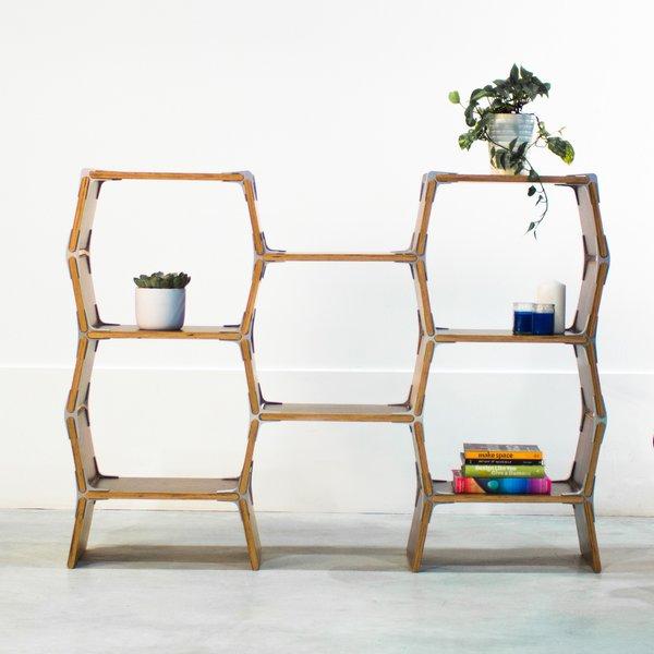 """Wooden Shelf """"5 Cell"""""""