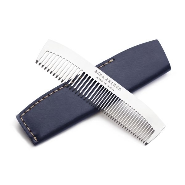 Ezra Arther No. 1827 Stainless Steel Pocket Comb