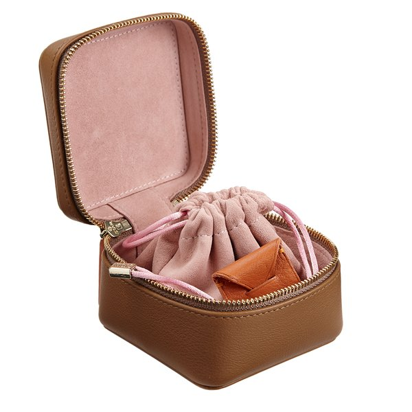Stow  Mini Leather Jewelry Box