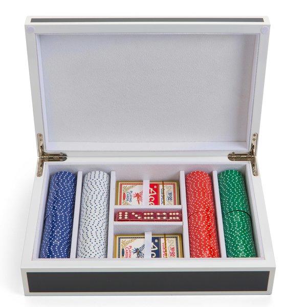 Lacquer Poker Set