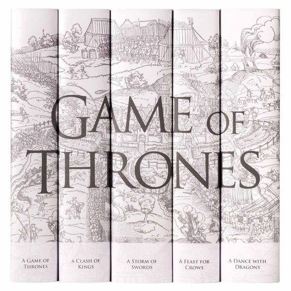 Game of Thrones - Winter is Coming Book Set