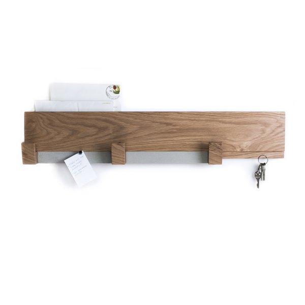 Multifunctional Wood Wall Rack