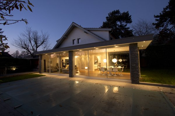 Photo  of Extension of a house modern home