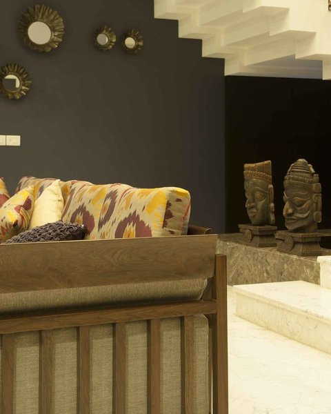 Moldings on the walls to give more intricate detail Photo 6 of Crafting Dynamic Living Spaces modern home