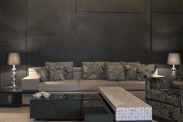 Grey space for elegant element design Photo 4 of Crafting Dynamic Living Spaces modern home