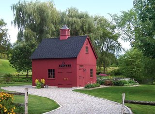 10 Prefab Barn Companies That Bring DIY to Home Building - Photo 2 of 10 - No countryside is complete without the sight of a classic red barn. Country Carpenters delivers pre-engineered, pre-cut, and color-coded post-and-beam beam building kits to most states in the U.S.