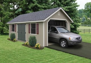 10 Prefab Garage Solutions For Auto Enthusiasts - Photo 9 of 10 - A prefabricated garage is the perfect storage solution for one car or off-road vehicles.