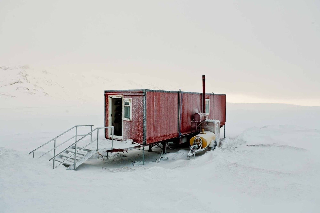 It doesn't get any more remote than this incredible shipping container home which was captured by photographer Bryce Johnson in the bleak wilderness of Iceland. 10 Beautiful Island-Style Shipping Container Homes - Photo 8 of 12