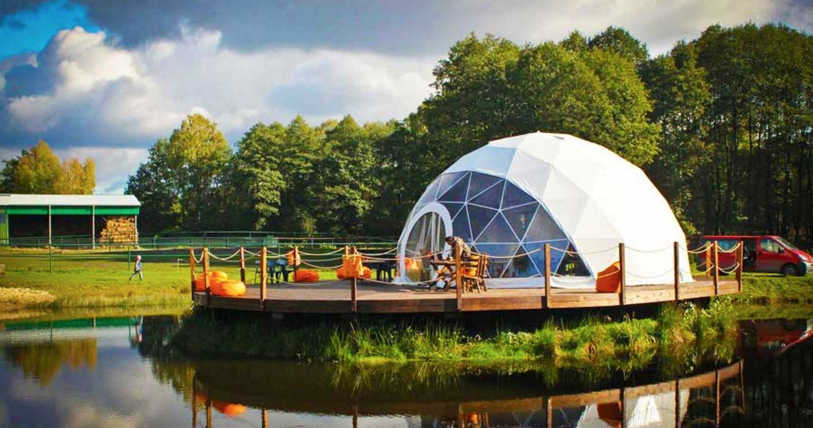 Tagged: Exterior and Tent Building Type.  Photo 1 of 14 in 12 Terrifically Glamorous Camping Options