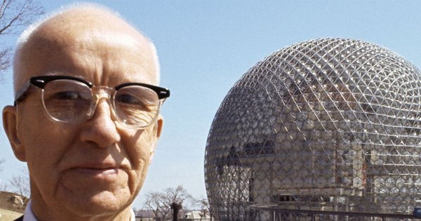R. Buckminster Fuller is credited with inventing the geodesic dome, and designing over 3,000 of the rounded structures.