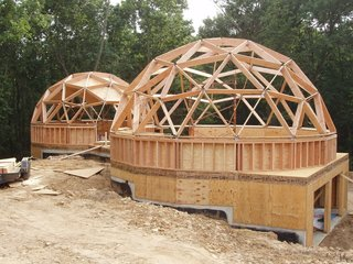 Make Your Dome Dreams Come True With These 12 Kit Home Companies - Photo 9 of 13 - With over 30 years developing domes, Dome Inc. has designed several distinct series of geodesic dome buildings. Each design is engineered to meet specific building codes and standards of construction, based on local climate conditions, seismic and extreme weather events, use of the building, and cost.