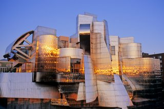 "Representing Frank Gehry's first museum built from the ground-up, the Weisman Art Museum is located on the banks of the Mississippi River on the University of Minnesota's Twin Cities campus. Affectionately known as the ""Baby Bilbao,"" a reference to the later Guggenheim's iconic museum in Spain, the Weisman's organic curves of stainless steel were designed without the aid of computer software, predating a process Gehry would later innovate through his use of CATIA modeling software."