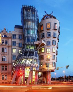 Gehry's very non-traditional design of Dancing House was controversial at the time because the house stands out among the Baroque, Gothic and Art Nouveau buildings for which Prague is famous, and in the opinion of some it does not accord well with these architectural styles. The then Czech president, Václav Havel, who lived for decades next to the site, avidly supported this project, however, hoping that the building would become a center of cultural activity.
