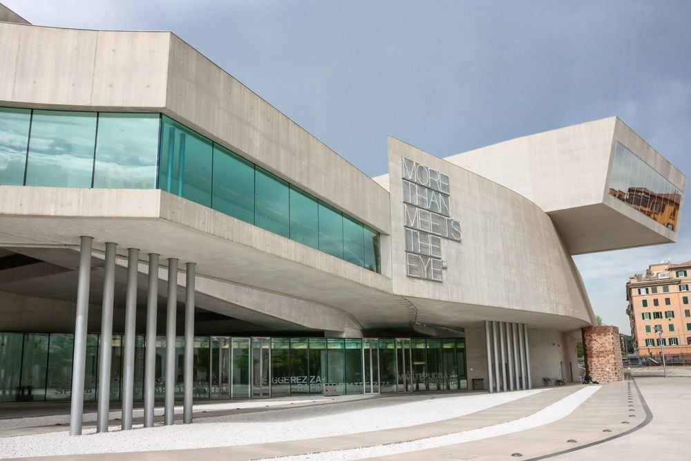"""Hadid described the museum as Tagged: Exterior, Concrete Siding Material, and Glass Siding Material.  Photo 6 of 18 in """"Queen of the Curve"""": 18 Influential Works by Zaha Hadid"""