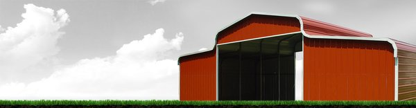 Elephant Barns gives the classic red countryside barn a modern spin, delivering pre-engineered metal buildings that can be customized to your specific needs.