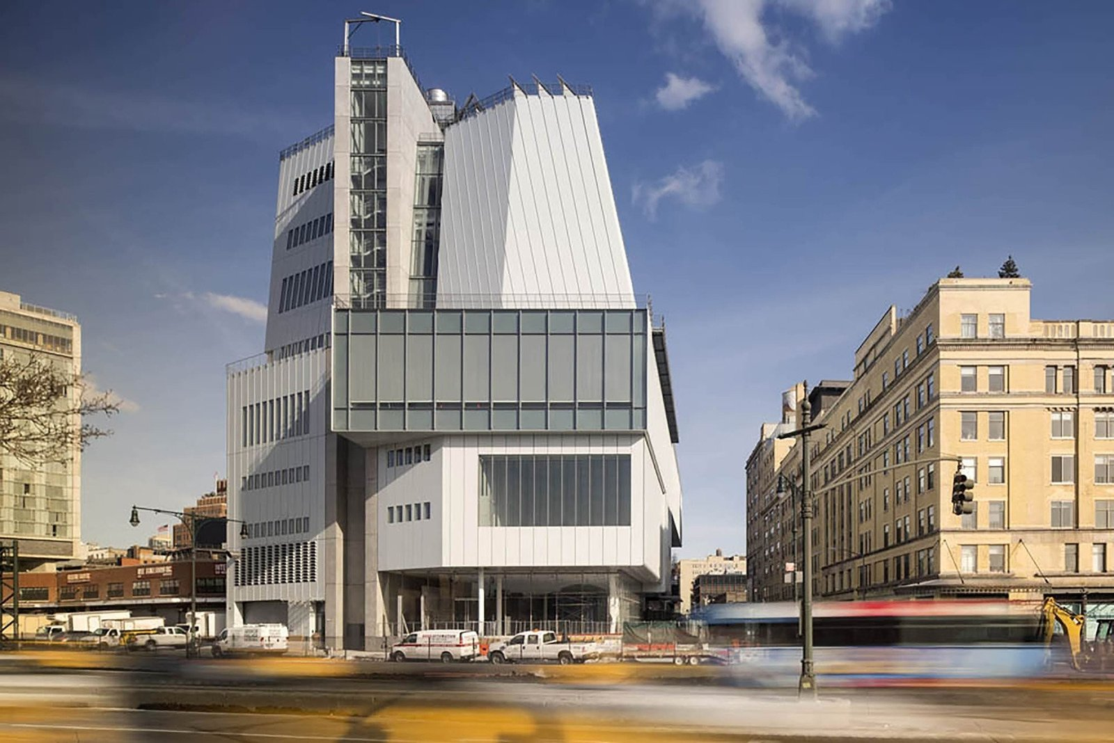 The Whitney Museum of American Art's new Renzo Piano-designed building is the 200,00 square-foot exhibition replacement of Marcel Breuer's 1966 brutalist Upper East Side masterpiece.  Photo 3 of 13 in 12 Renzo Piano Buildings We Love