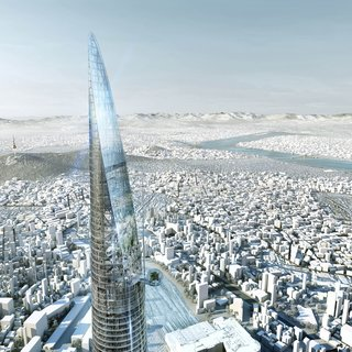 12 Renzo Piano Buildings We Love - Photo 6 of 12 - At 3.3 million square meters, Yongsan International Business District in Seoul represents the largest single development in South Korea. Renzo Piano Building Workshop designed the 110-story skyscraper that anchors it.