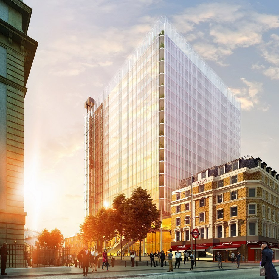 Also a work in progress, Renzo Piano has cut 54 storeys from his stalled Paddington Pole skyscraper to create a new proposal for a Tagged: Exterior.  Photo 9 of 13 in 12 Renzo Piano Buildings We Love
