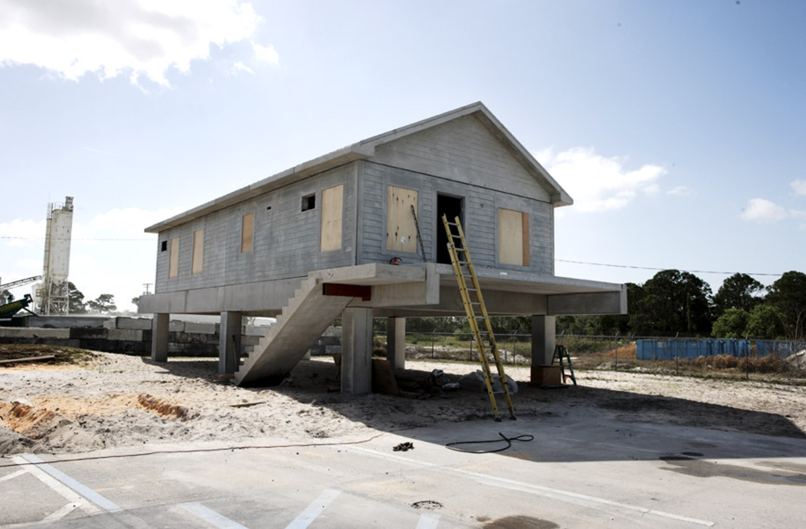 concrete kit homes