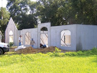 """Florida Engineering Solutions again underscores the big benefit that precast concrete offers homebuilders: """"The ability of the material to serve as a weather-resistant factor. Weather extremes, such as excessive heat or cold, are well guarded against by the concrete structure, making the internal temperature much more easily controlled. Moreover, in regions that are prone to natural disasters, like hurricanes or tornados, concrete structures are a great safeguard against these potential threats to residents and their belongings."""""""