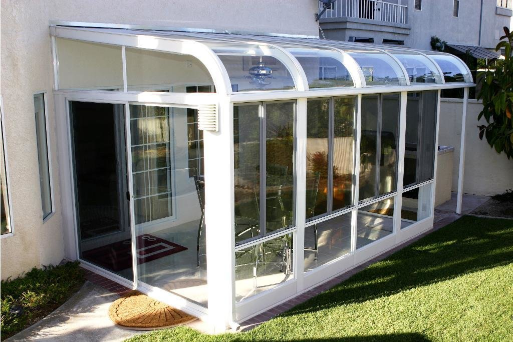 This is a good resource to start your search for an optimum sunroom solution, with some advice on the best positioning for your new sunroom, and some technical suggestions in what to look for in terms of glass and frames.  Photo 3 of 8 in 7 Resources For Prefab Sunrooms and Easy-to-Install Sun Parlors
