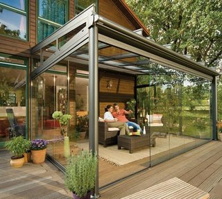 7 Resources For Prefab Sunrooms and Easy-to-Install Sun Parlors - Photo 7 of 7 - This solution suggested by Improvenet could be just what you're looking for. Follow the link above for some detailed advice on how to achieve this type of space, from cost-effectiveness to planning for permits.
