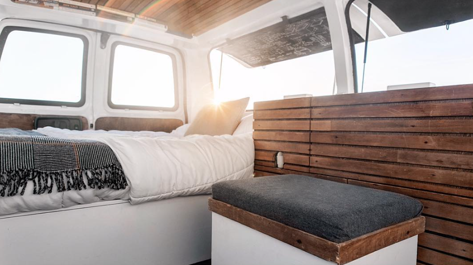 New York Times-featured adventurer Zach Both takes his commercial and documentary production skills on the road in this stylishly appointed camper.